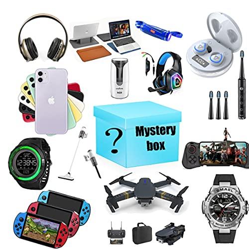Mystery Box Surprise Gift Lucky Box È Un Prodotto Elettronico con Un Buon Rapporto qualità-Prezzo Come Gamepad, Droni, Telefoni Cellulari, Computer, ECC.