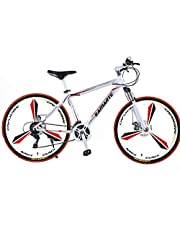 26 Inches Roadbike, Freeride ,21 Speeds Gears Bike, Shift Lever: 30-7 immersion-type separation off-road special rear derailleur off-road special front derailleur, High Crbon Steel Frame