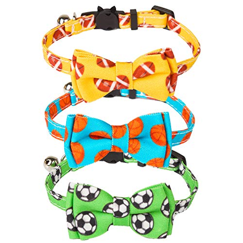 (50% OFF) Easy Breakaway Cat Collars W/ Bell $6.50 – Coupon Code