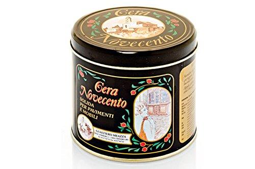 Cera Novecento Y937 Cera Solida, Nero, 500 ml