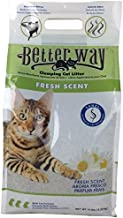Ultra Pet Better Way Clumping Fresh Scent Cat Litter with Western Bentonite Clay, 14-Pound bag