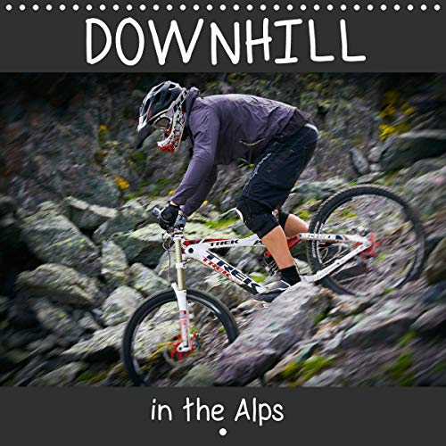 Downhill in the Alps (Wall Calendar 2020 300 × 300 mm Square): Accompany the photographer Dirk Meutzner and his biker friends on a trip through the ... calendar, 14 pages ) (Calvendo Sports)