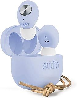 Sudio 00190915 Tolv True Wireless In-Ear Earbuds, Blue