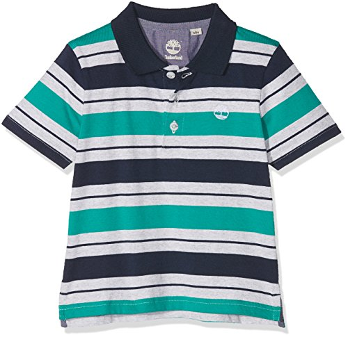 Timberland Timberland Baby-Jungen Polo Manches Courtes Poloshirt, Vert (Chlorophyll), 9-12 Monate (Herstellergröße: 09M)