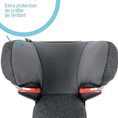Bébé Confort Rodifix Airprotect, Siège-Auto Groupe 2/3 (15 à 36 kg), ISOFIX, de 3,5 à 12 ans, Triangle Black
