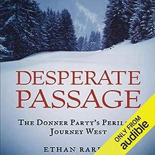 Desperate Passage audiobook cover art