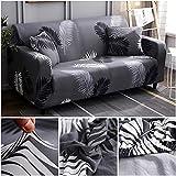 WXQY Funda de sofá elástica con Estampado geométrico para Sala de Estar, Funda de sofá de Esquina de Spandex, Funda de protección para Muebles, Funda de sofá A12 1 Plaza