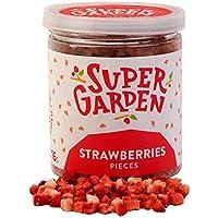 Supergarden Bayas y Frutas Liofilizadas. Piezas y Rodajas. (Fresas)