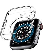 Spigen Apple Watch Seri 6/SE/5/4 (44mm) ile Uyumlu Kılıf Liquid Crystal / Crystal Clear - 062CS24473