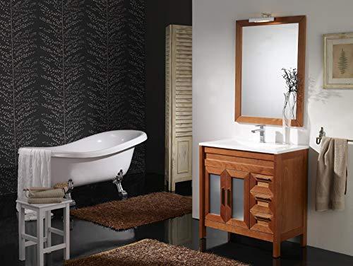 ARTEMA Mueble de baño con Lavabo y Espejo con luz (100 CM).2...