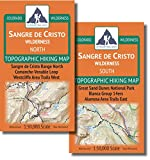 Outdoor Trail Maps Sangre de Cristo Wilderness Map Pack: North Map and South Map