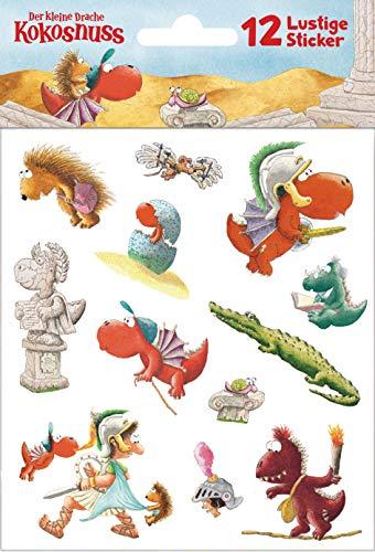 Der kleine Drache Kokosnuss - Sticker