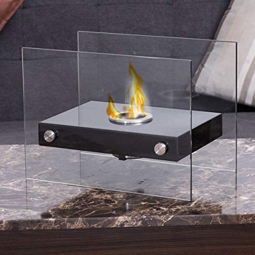 Purchase Kingsmaker Portable Tabletop Firepit Ventless Indoor/Outdoor Stainless Steel Bio-Ethanol Fi...