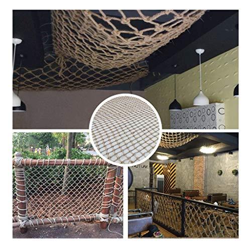 Veiligheidsnet van nylon voor balkon en trappen, isolerend net voor buiten, voor trappen, ramen, tuinen, gebouwen, daken, enz.