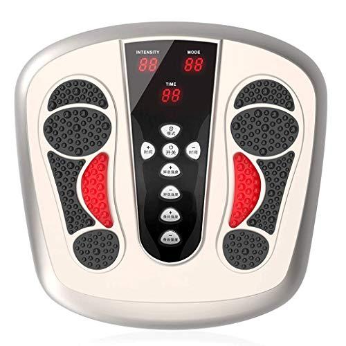 Best Buy! LLRYN Foot Massager Machine with Heat, Shiatsu Electric Foot Massager Great for Plantar Fa...