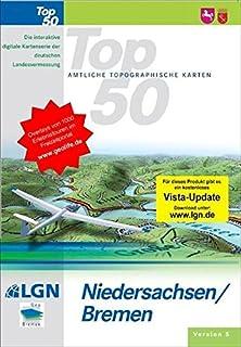 Top 50. Niedersachsen, Bremen. Amtliche topographische Karten Version 5. CD-ROM für Windows Vista/2000/XP