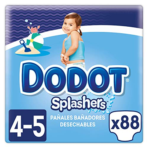 Dodot Splashers Talla 4, 88 Pañales.