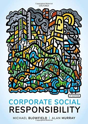 Blowfield, M: Corporate Social Responsibility