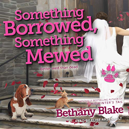 Something Borrowed, Something Mewed audiobook cover art