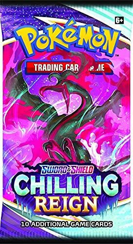 Pokémon TCG: Espada y Escudo 6: Pantalla de refuerzo de reinado escalofriante
