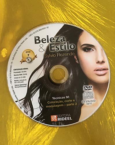 DVD Beleza & Estilo - Técnicas IV: Coloração, corte e maquiagem - parte 2