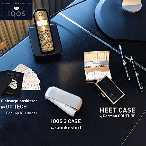 GC Tech® Original Cleaning-Sticks für IQOS Holder 2.4 3 Duo und Multi. 60 Stück Reinigungs-Sticks Reinigungsstäbchen mit Alkohol