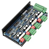 Conductor Tb6600 Dd6600t4v1 Motor 4 Eje 2 Fase Motor De Pasos Del Controlador Arduino De La Máquina Fresadora Cnc De Fresado Y Grabación Máquina Azul