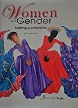 Women and Gender: Making a Difference by Janice D. Yoder (2012) Paperback
