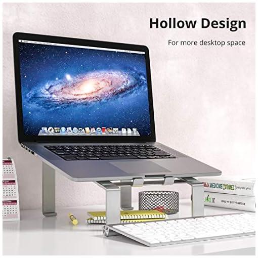 Soporte Portatil, Soporte Ordenador Portatil Elevador Portatil Mesa Gaming Laptop Stand, Compatible con Macbook Pro Air… 5