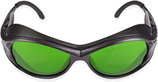 IPL Laser Safety Glasses 190nm-2000nm Wavelength for Beauty & Cosmetology Eye Protection (Black) (Style 2)
