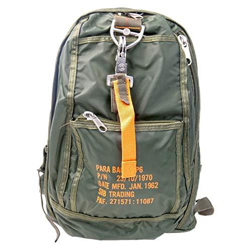 SBB Para Bag 6 - Sac à dos, style parachutistes avec mousqueton à détachement rapide