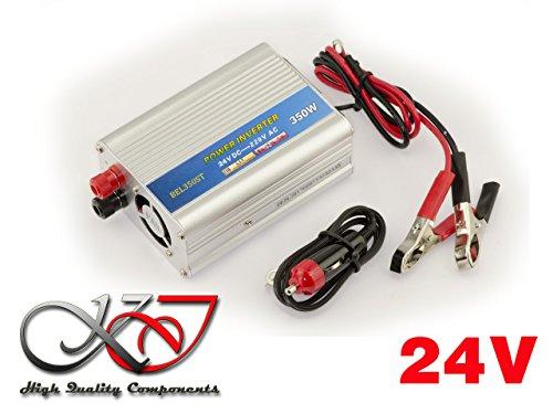 Convertidor de tensión (24V en 220V AC–DC)–Potencia 350Watts...