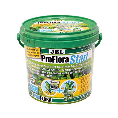 JBL ProfloraStart Set 2021700 Pflanzendünger Start-Set für Süßwasser Aquarien, 3 kg