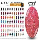 NYK1 Smalto Gel Semipermanente Soak Off per UV o LED - Smalto per Manicure in MIlle Colori...