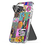 Coque de téléphone personnalisée Compatible avec Hippie Samsung iPhone 12/11 Pro Max 12 Mini SE...
