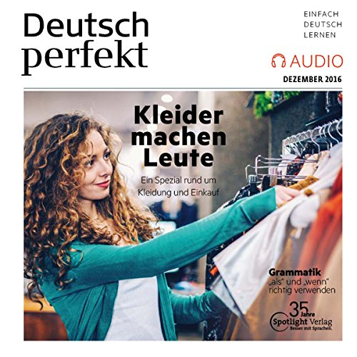 Deutsch perfekt Audio. 12/2016 cover art