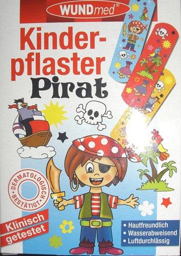 240213 Wundmed Kinderpflaster Pirat, Pflaster