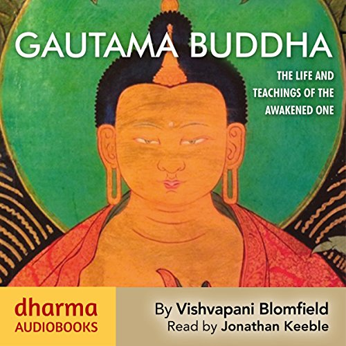 Gautama Buddha audiobook cover art