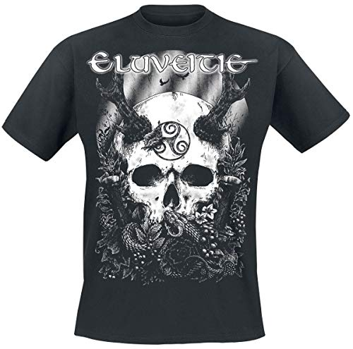 Eluveitie The Antlered One T-Shirt schwarz XL
