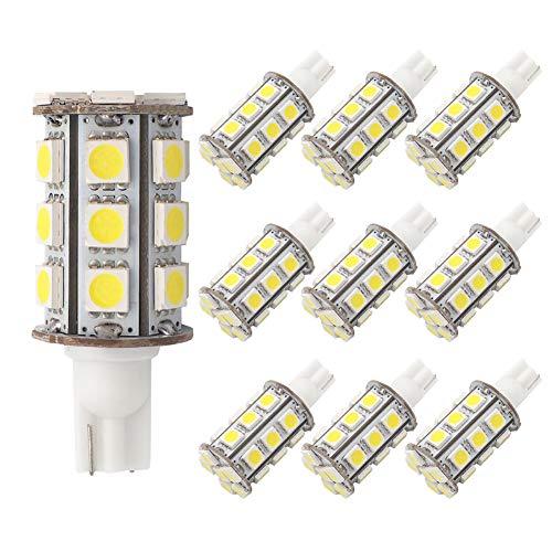 GRV T10 921 194 Wedge 24 5050 SMD LED Ampoule Lampe Super Lumineux Blanc Chaud 12 V 28 V