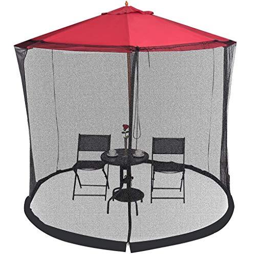 SUNYUE 9 10 Pieds en Plein air Parasol moustiquaire moustiquaire moustiquaire moustiquaire moustiquaire Couverture de Patio