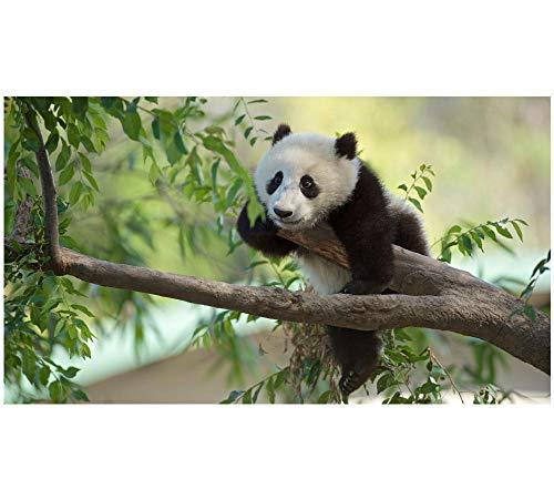 HU0QWPKU Panda speelt op de boom houten puzzel milieuvriendelijke casual games casual familie puzzel voor volwassenen kinderen 1500 stuks