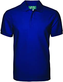 Anti-Bacterial Polo Shirt I Basic Polo T Shirts for Mens I Anti-Microbial Cloths - Keep Safe Against Disease causing Bacte...