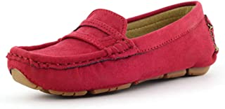 Women's Slip on Flats Loafers Classic Bowknot Driving Moccasins Casual Square Toe Boat Shoes