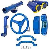 Swing Set Stuff Deluxe Accessories Kit SSS Logo Sticker Playground, Blue