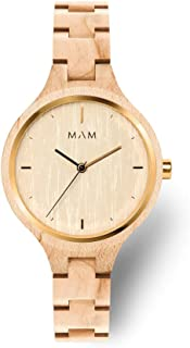 MAM Originals · Geese - Women's Watch - Minimalist Design - Wood Watch Made from sustainably sourced Wood