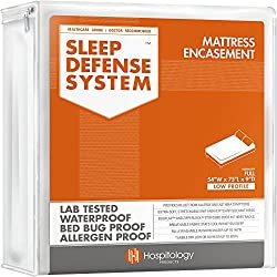 commercial Hospital Products Sleep Protection System-Zip Mattress-Full / Double-… bed bug tv