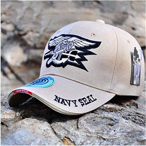 YPORE Mens Us Navy Baseball Cap Navy Seals Cap Tactical Army Cap Trucker Gorras Snapback Hat for Adult