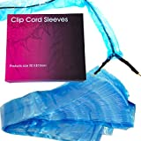 Tattoo Clip Cord Covers - 125pcs Disposable Tattoo Cover Cord Sleeves Bags Clean Barrier Supply for Tattoo Power Cord, Tattoo Supplies, Tattoo Kits, Tattoo Machine Gun Accessories