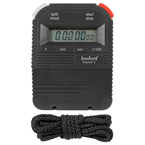 ORIGINAL Hanhart Stoppuhr Stopstar 2 Stop Watch Stopuhr Uhr inkl. Batterie
